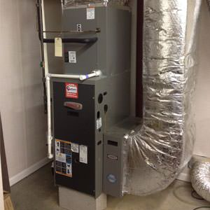 gas furnace installation in Poquoson