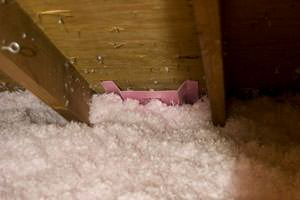 New Insulation installed in Chesapeake attic