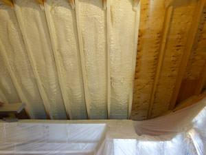 Spray Foam Insulation Installed In Hampton