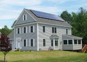 Solar thermal system installed in Chesapeake